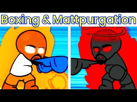 Download VS Boxing Matt & Mattpurgation FULL WEEK [HARD] - Friday Night Funkin' Matt Wiik 2 Mod