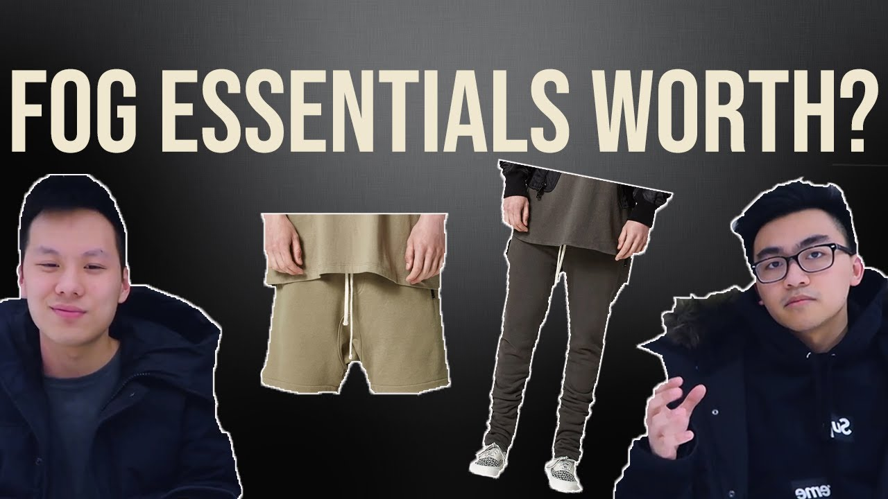 e08922b2 Pacsun FOG Essentials Shorts/Sweatpants Review | 2019 - YouTube