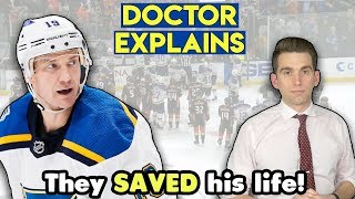 How They Saved Jay Bouwmeester's Life After Cardiac Arrest - Doctor Explains
