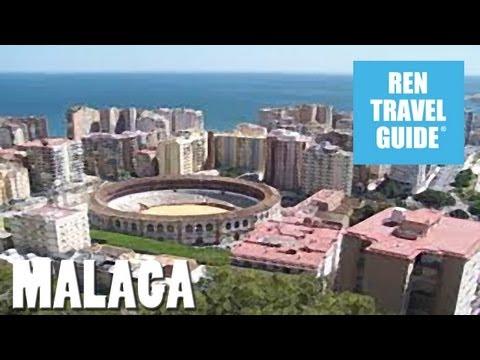Malaga (Spain) - Ren Travel Guide Travel Video