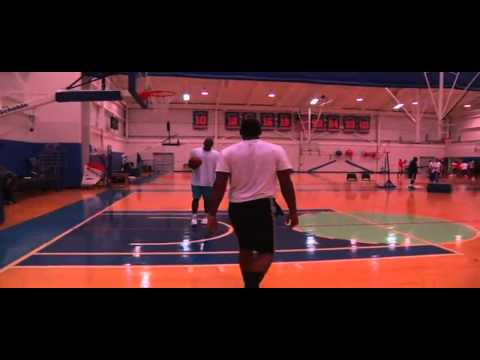 Hakeem Olajuwon   Carmelo Anthony Session NYC 2012