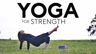Yoga For Strength And Flexibility Core (upper body) | Fightmaster Yoga