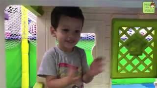 Fuzail pretend playing at playground | Funny video | Kids songs | Kids games