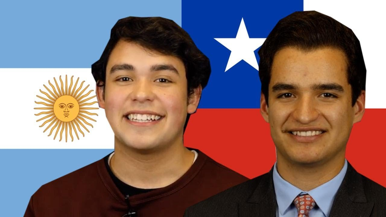 El acento Chileno vs el acento Argentino (gracioso)