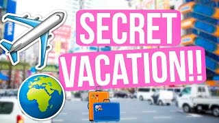 THE SECRET IS OUT!! OUR SURPRISE VACATION!!!