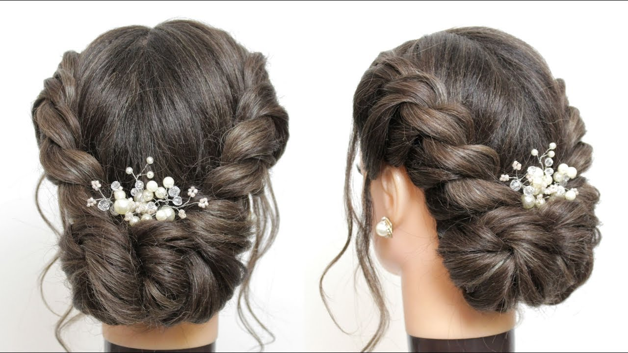 easy twisted updo tutorial hairstyles for long hair youtube
