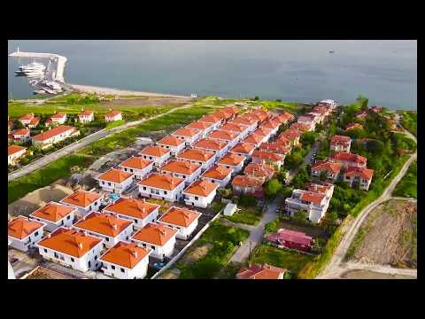 Fully completed seaside Istanbul villas close to West Marina