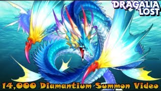 Dragalia Lost- 14,000 Diamantium The Winter Flower and the Tidal Power