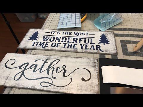 Using a Vinyl Cutter to Make Stencils