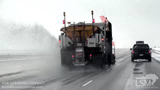 12-26-2018 Sioux Falls, SD - Snow Wrecks Holiday Travel