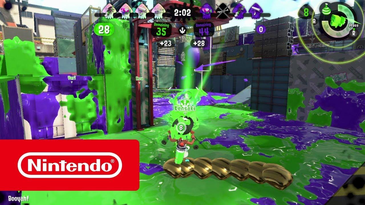 Splatoon 2 Muschelchaos Nintendo Switch Youtube