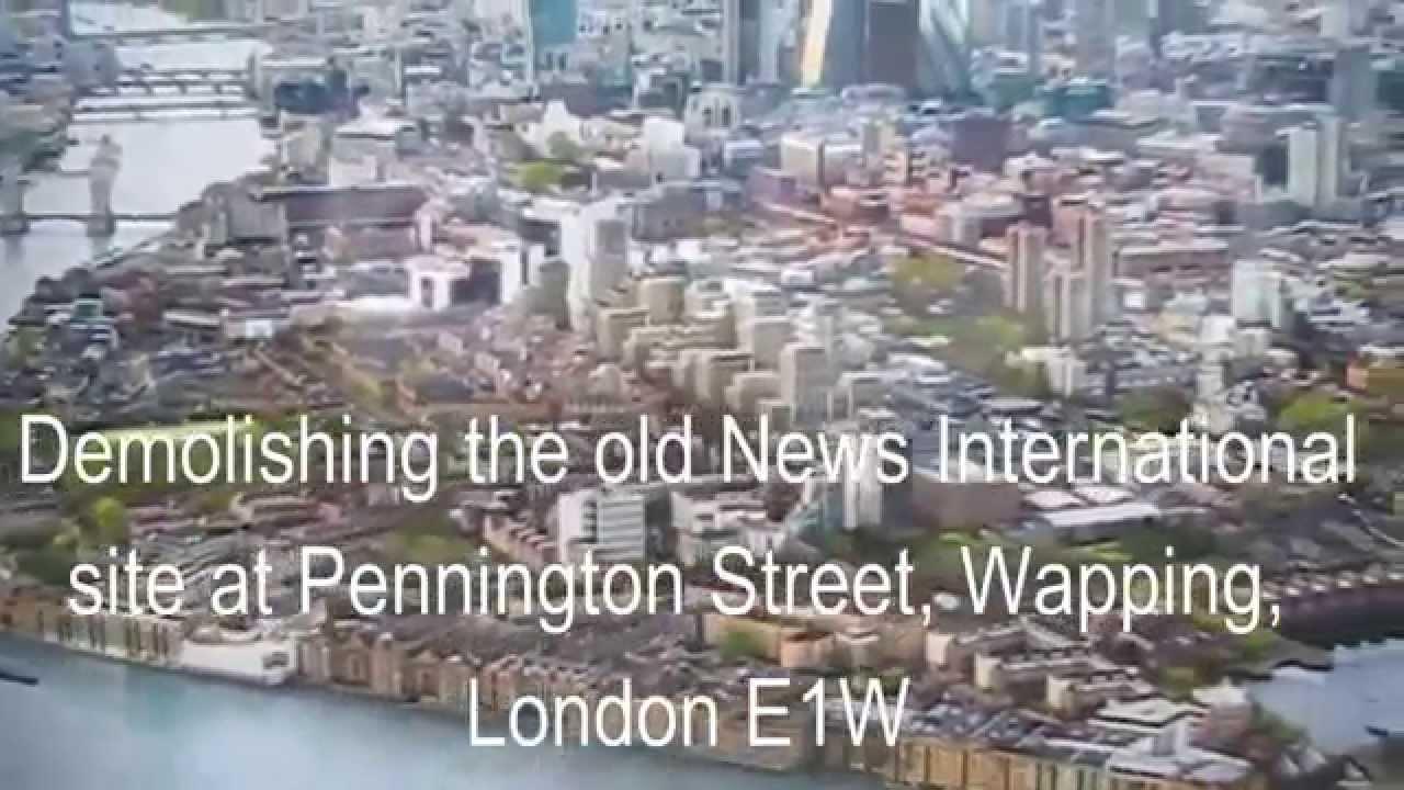 Inter News: Demolishing 'Fortress Wapping' The Old News International