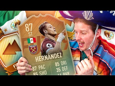 99 HEADING CHICHA! OMG FLASHBACK JAVIER HERNANDEZ SBC! FIFA 19 ULTIMATE TEAM