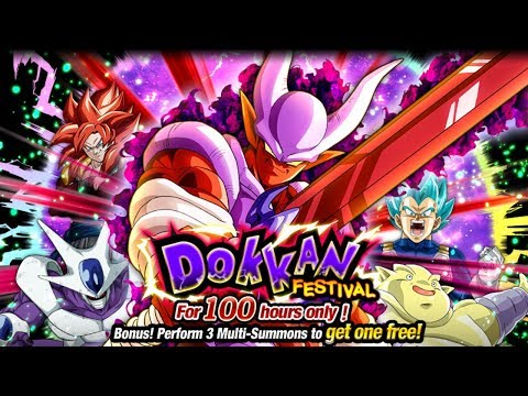 900 STONES SUMMON! STR SUPER JANEMBA DOKKAN FESTIVAL SUMMONS [GLOBAL] Dragon Ball Z Dokkan Battle