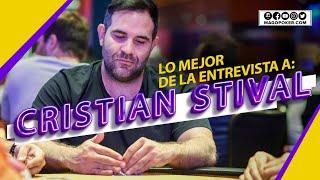 Lo mejor de la entrevista a Cristian Stival