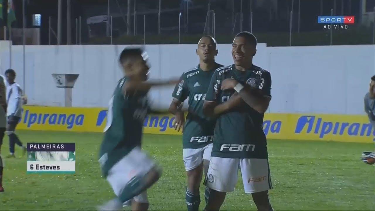 Lucas Esteves 30 11 2018 Palmeiras 4 X 2 Vasco Copa Ipiranga Sub 20 1ª Rodada Youtube