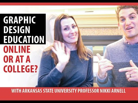 Should You Learn Graphic Design Online or at a College with ASU Professor Nikki Arnell