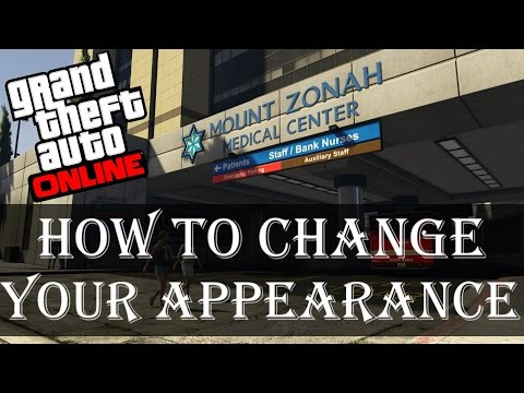 How to change your appearance in GTA Online | Mobile Plastic Surgeon