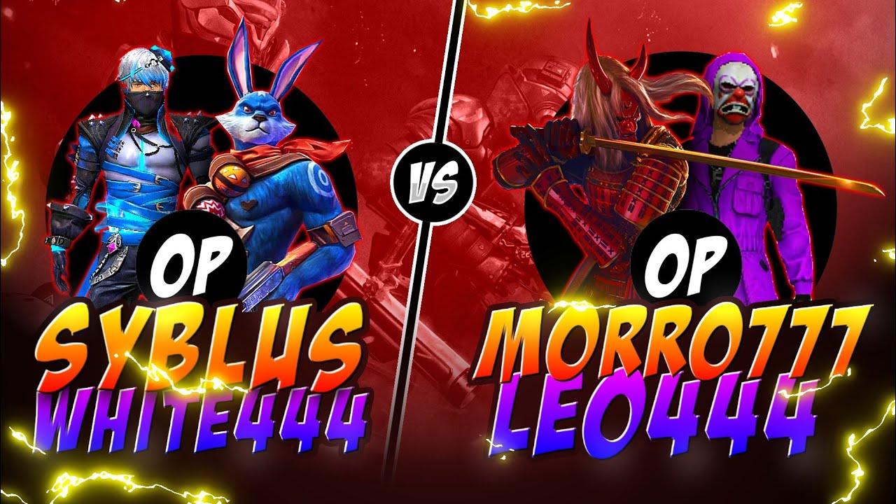 Syblus white444 vs Morro leo444 || Free fire Clash squad Intense Game b/w Overpower - Nonstop Gaming
