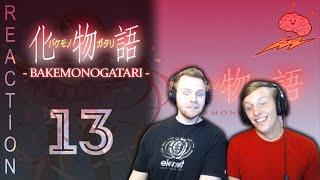 SOS Bros React - Bakemonogatari Episode 13 - The Cat Returns