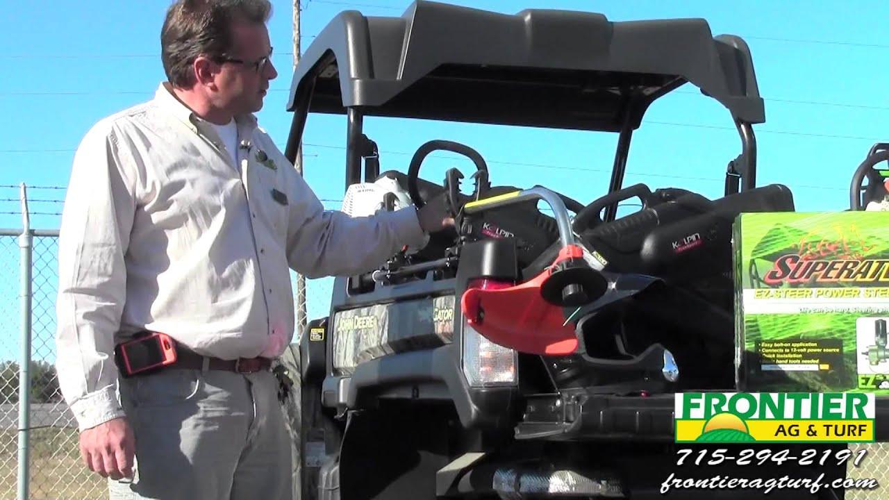 John Deere Gator Accessories >> John Deere Gator Accessories - YouTube