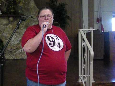 Helene Atkinson;  Stand By Me, karaoke