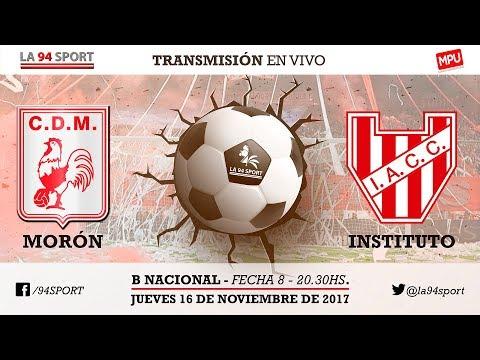 [VIVO HD] Dep Morón VS. Instituto / Fecha 8 - B Nacional En Vivo