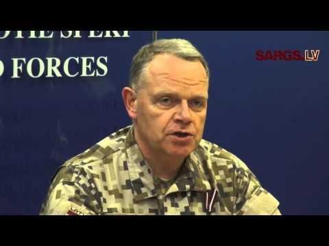 Svinīgā ceremonijā atklāj NATO spēku integrācijas vienību Latvijā