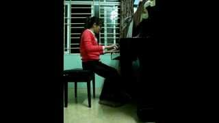 over and over piano by thu hang