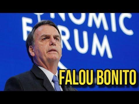 DISCURSO COMPLETO DE BOLSONARO EM DAVOS