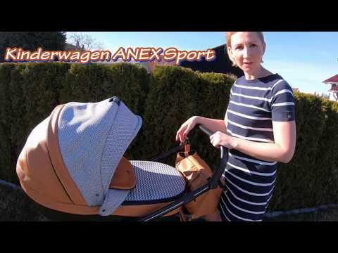Kinderwagen ANEX Sport 2 in 1