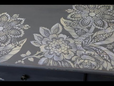 Stenciling Furniture DIY with Helen Morris