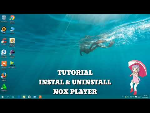TUTORiAL iNSTALL & UNiNSTALL NOX PLAYER