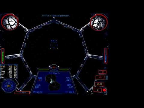 X Wing vs TIE Fighter FFA gameplay |