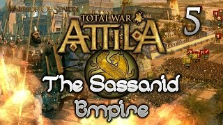 Total War: Attila - Gameplay ~ The Sassanid Empire Campaign #5 - Rapid Movement!