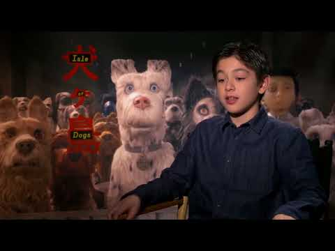 ISLE OF DOGS (2018) Koyu Rankin talks about his experience making the movie [HD]