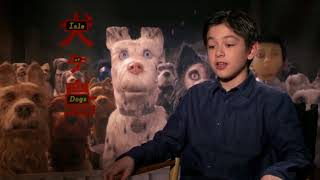 ISLE OF DOGS (2018) Koyu Rankin talks about his experience making the movie [HD] Poster