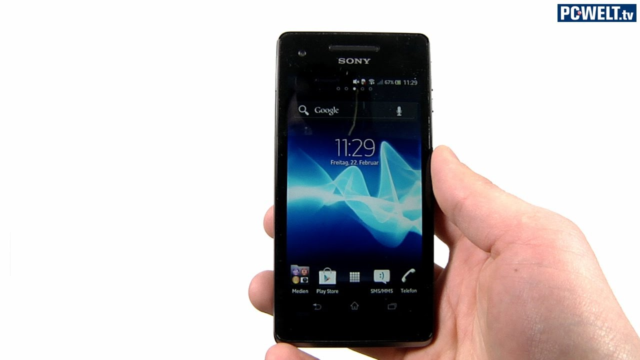 Sony Xperia V im PC-WELT-Test - YouTube 19d582c64e0a3