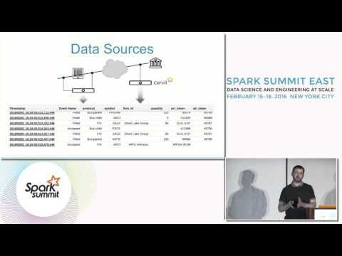 Using Apache Spark to Analyze Activity and Performance in High Speed Trading Environments