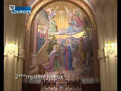 Chapelet de Lourdes du lundi 11 déc. 2017