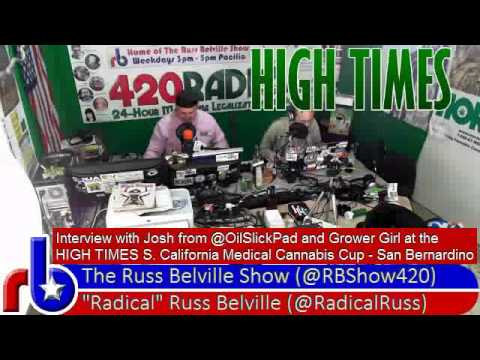 The Russ Belville Show #345 - Interviews with @OilSlickPad and @420Ribbon