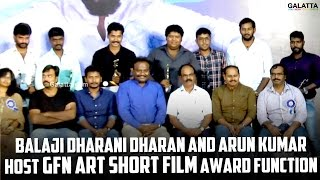 Balaji Dharani Dharan and Arun Kumar Host GFN Art Short Film Award Function