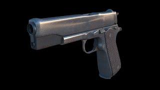 Blender Tutorial: Handgun Part 1