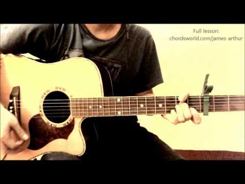 "Impossible Chords ""James Arthur"" ChordsWorld.com Guitar Tutorial"