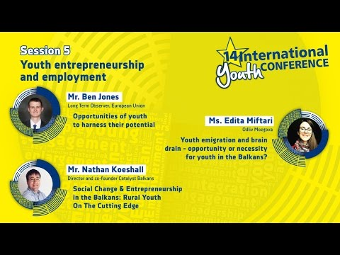 Session #5: Youth entrepreneurship and employment