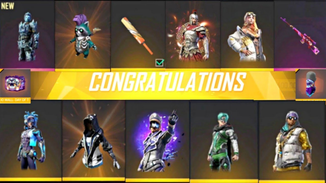 Free Fire new Diwali events, new bundle, new dres, new weapon and new diamond royale | Captain Gamer