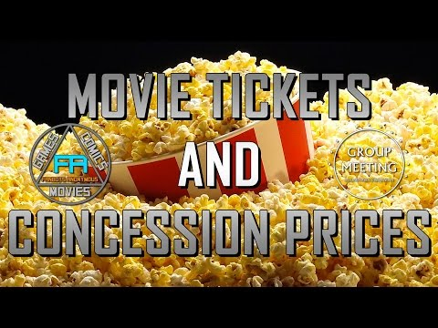 Do Movie Tickets and Concessions Cost Too Much? (Group Meeting #22.1)