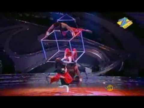 Lux Dance India Dance Season 2 Jan. 29 '10 Dharmesh, Binny & Kishore