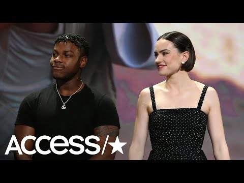 New | Daisy Ridley and John Boyega from YouTube · Duration:  56 seconds