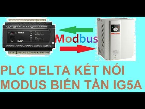 Truyền thông modbus giữa PLC delta với biến tần LS IG5A 100% thành công|| TCA TEAM